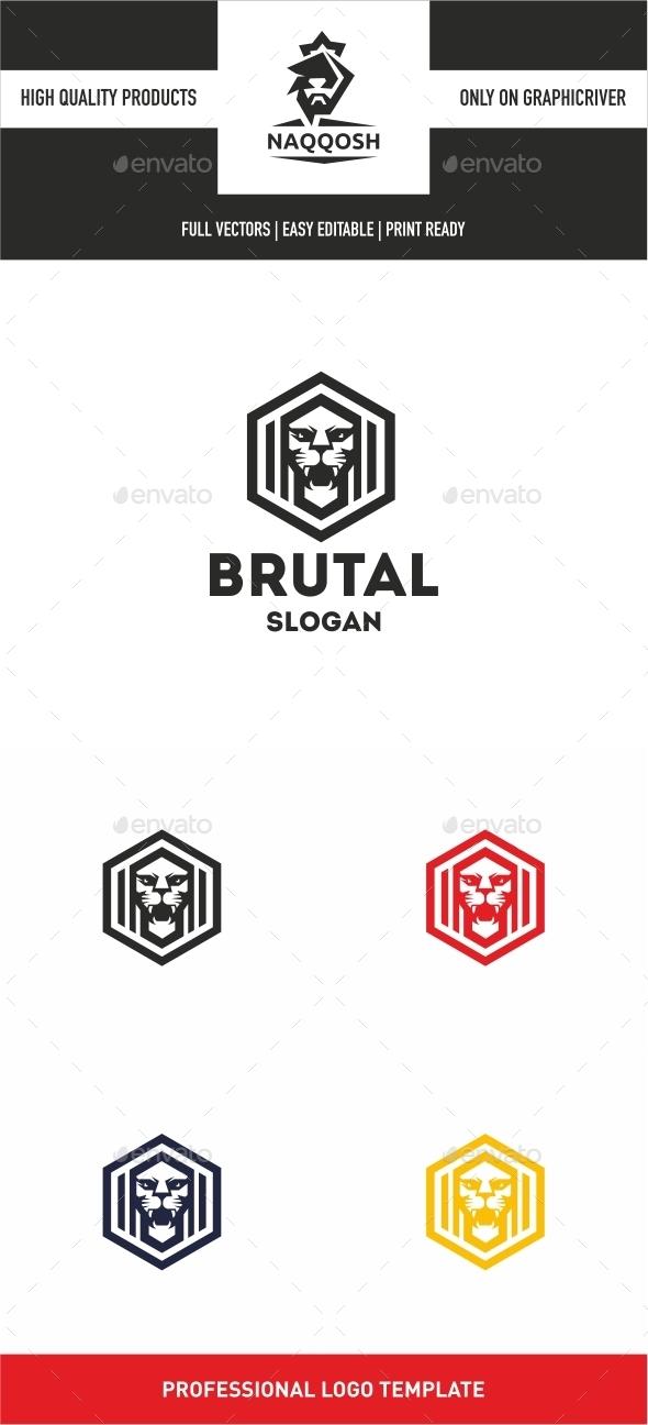 Brutal - Logo Templates