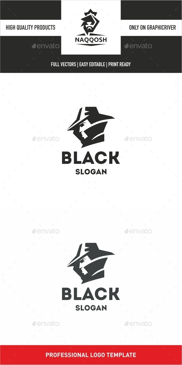 Black  - Logo Templates
