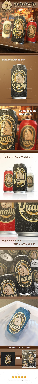 Soda Can Mock-Ups - Product Mock-Ups Graphics