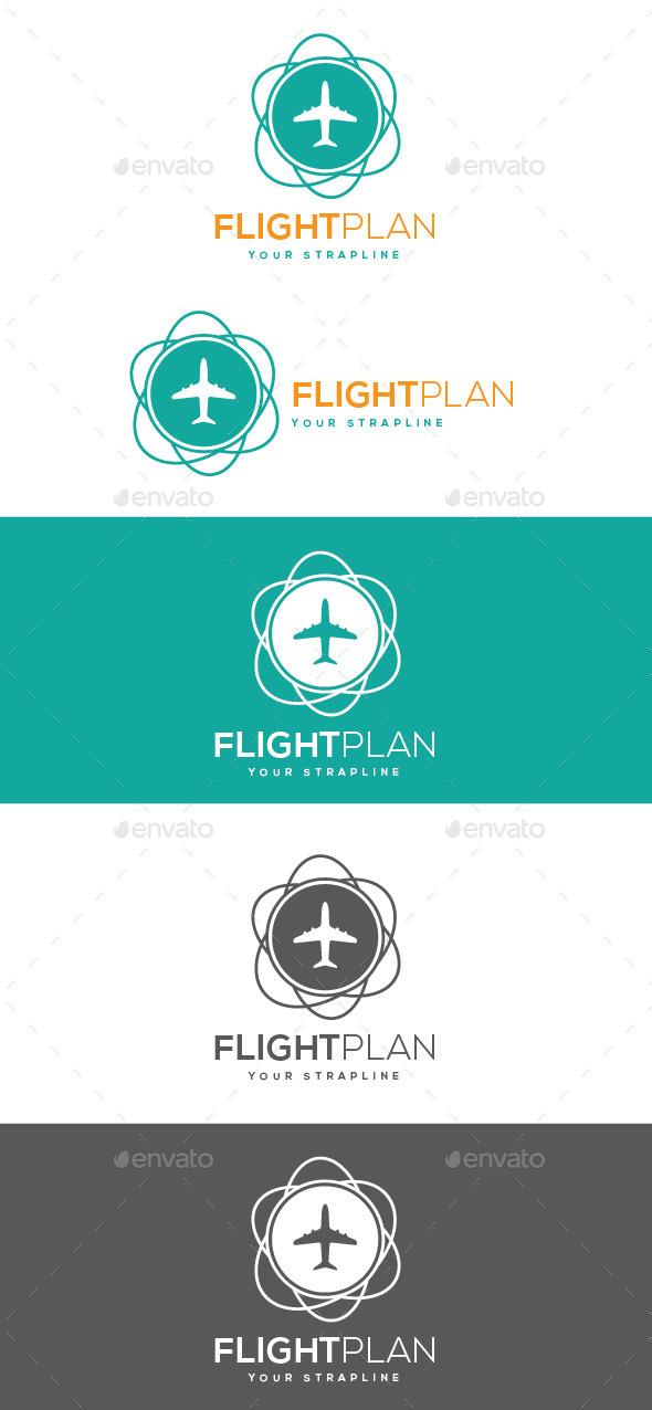 Flightplan Logo - Symbols Logo Templates