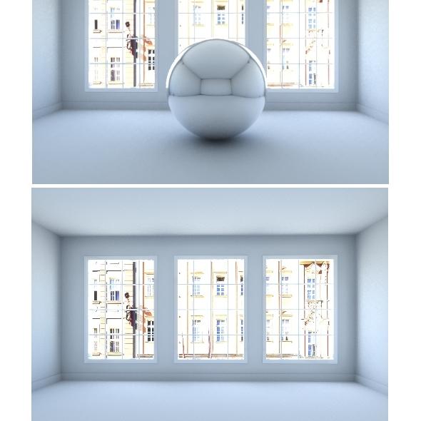 Interior lighting - apartment house