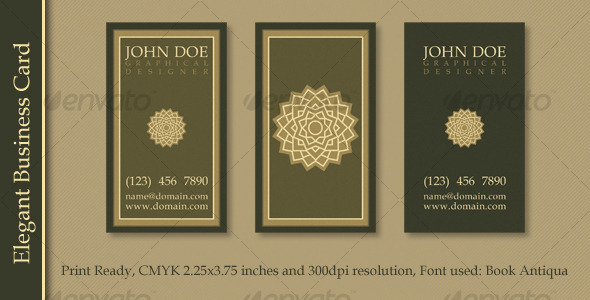 Business Card - Retro/Vintage Business Cards