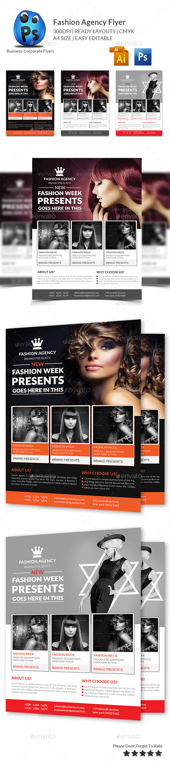 Fashion Agency Flyer - Commerce Flyers