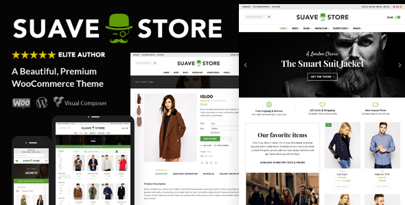 Suave – Multi-Purpose WooCommerce Theme