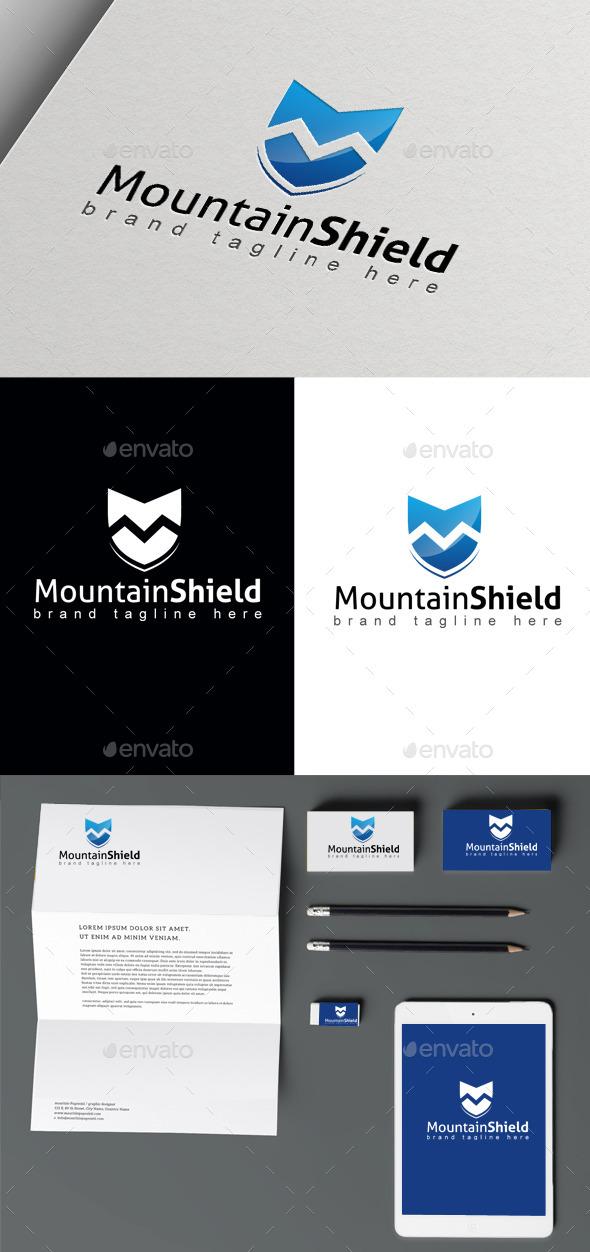 Mountain Shield - Nature Logo Templates