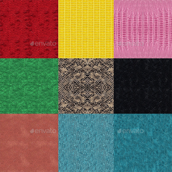 Seamless Snake Textures - 3DOcean Item for Sale