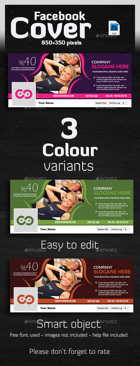 Tivato - Ultimate Banner Timeline Template - Facebook Timeline Covers Social Media