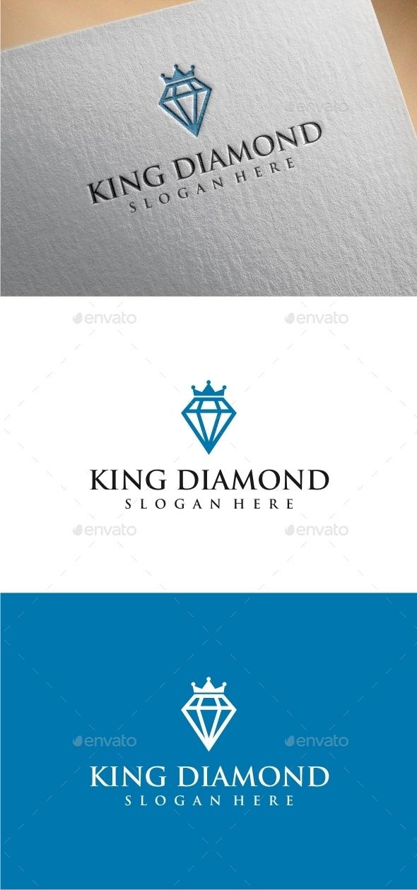 King Diamond - Logo Template - Abstract Logo Templates