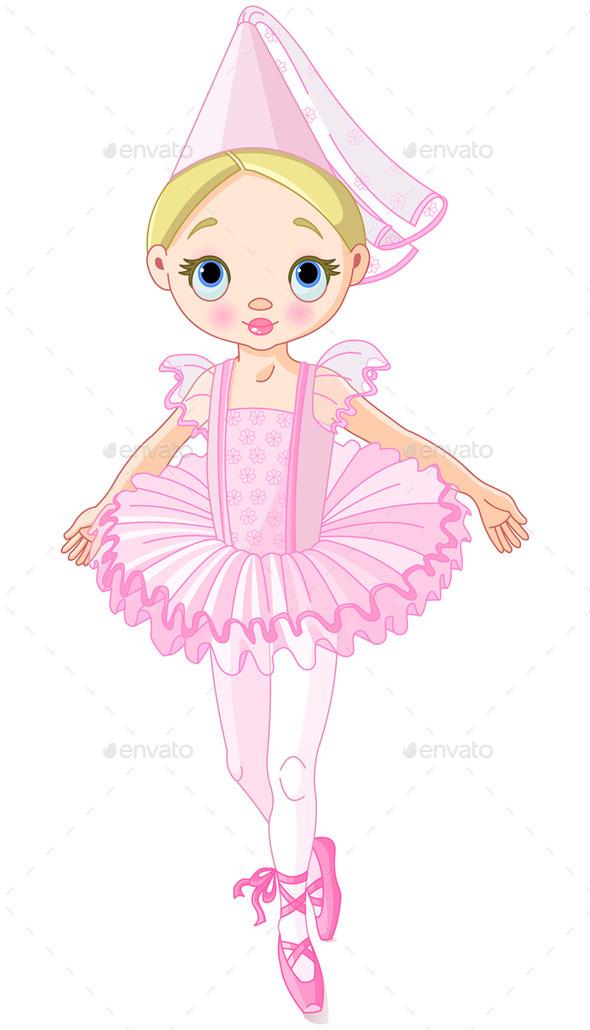 Pink Princess - People Characters