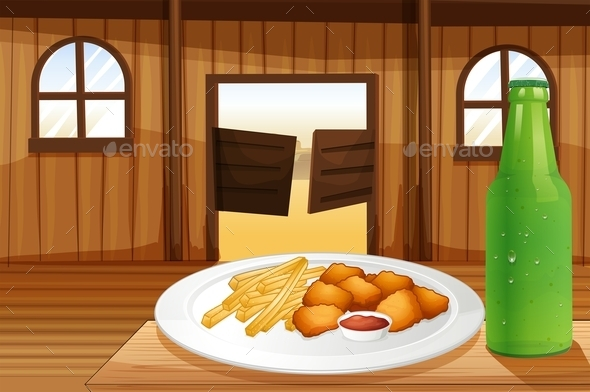 Food and Soda - Food Objects