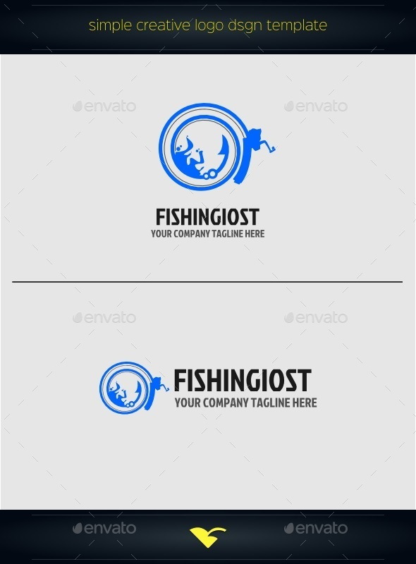 Fishing logo - Animals Logo Templates
