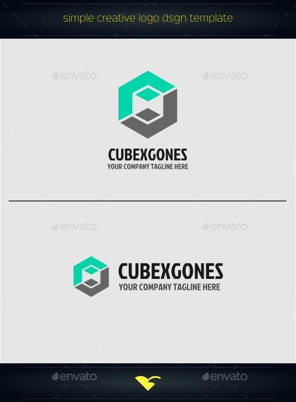 Cube Logo - Objects Logo Templates