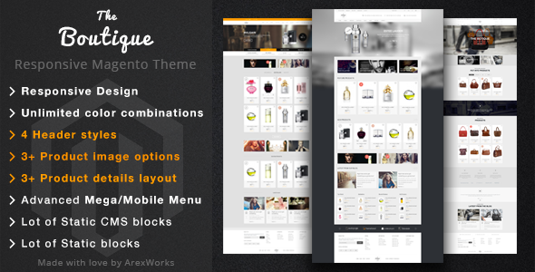 Boutique – Fashion Magento Responsive Theme