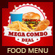 Restaurant Fast Food Menu - GraphicRiver Item for Sale