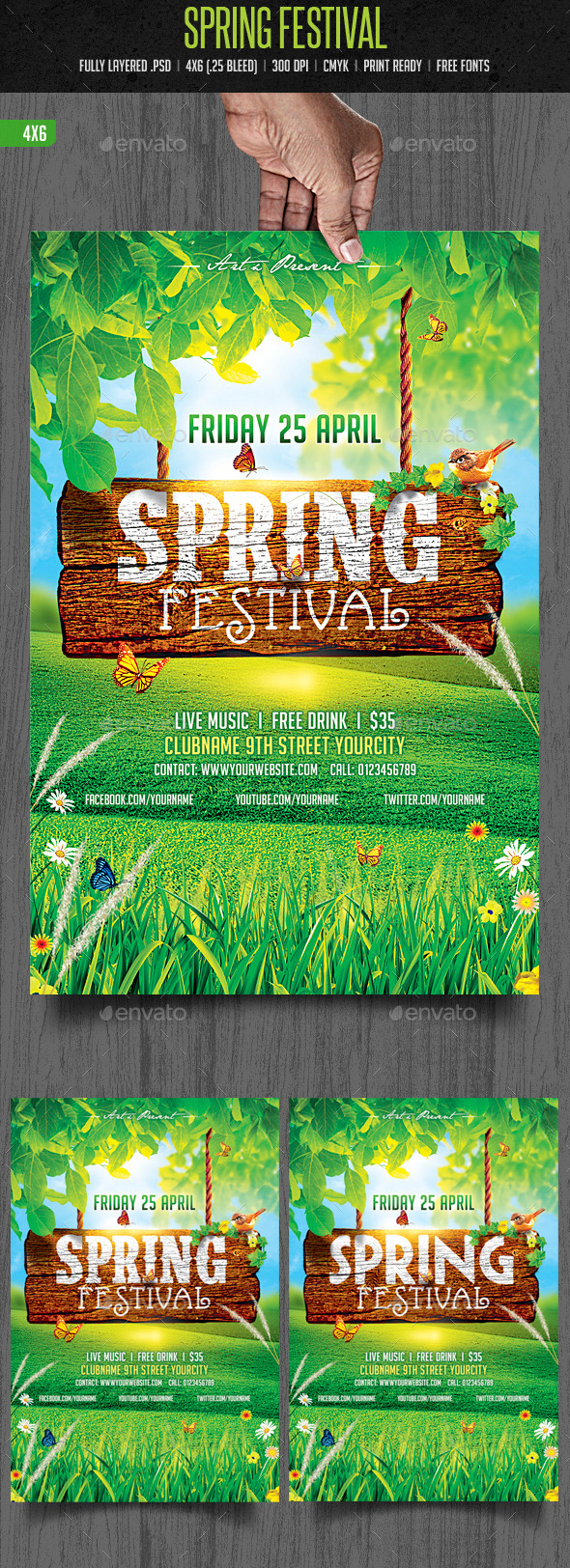 Spring Festival  - Clubs & Parties Events