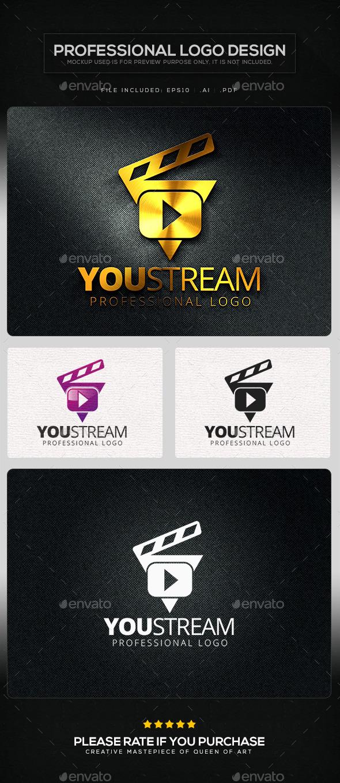 You Stream V.2 Logo Template - Symbols Logo Templates