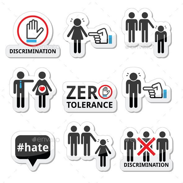 Stop Discrimination Set - Abstract Conceptual