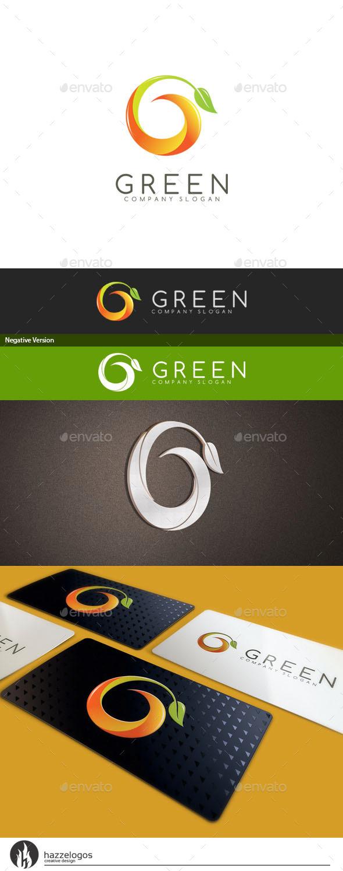 Green - Letter G Logo - Letters Logo Templates