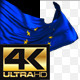 Realistic Waving EU Flag - VideoHive Item for Sale