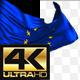 Realistic Waving EU Flag - VideoHive Item for Sale