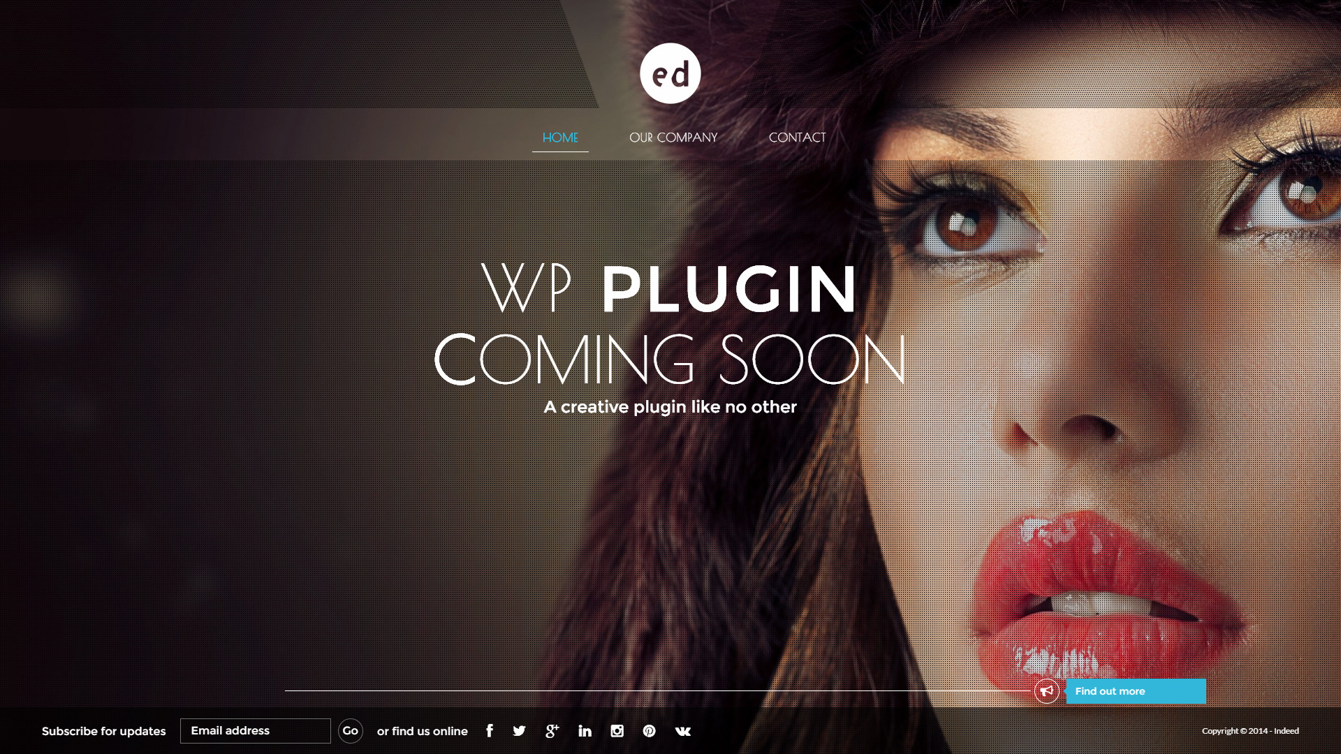 Coming Soon CountDown Responsive Wordpress Plugin by azzaroco ...