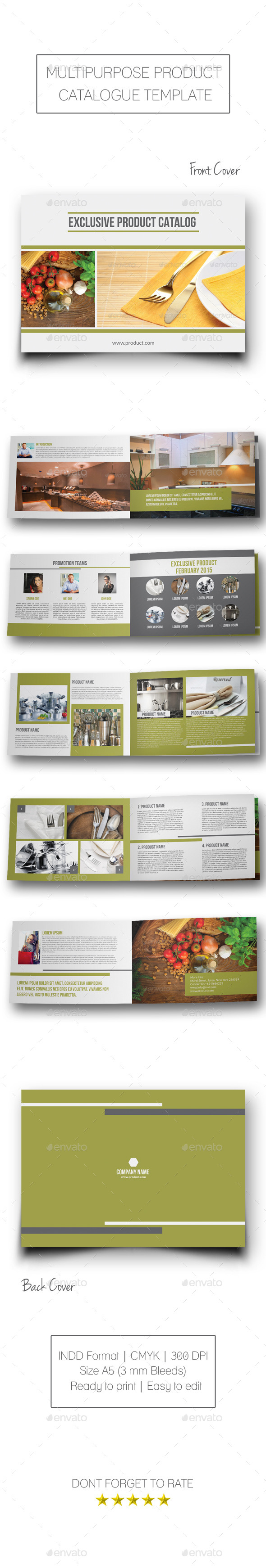 Multipurpose Product Catalogue - Catalogs Brochures