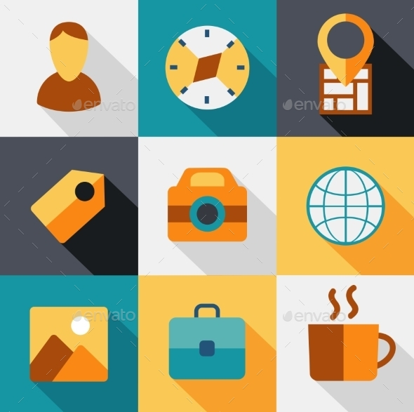 Travel Icons - Travel Conceptual