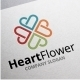 Heart Flower - GraphicRiver Item for Sale