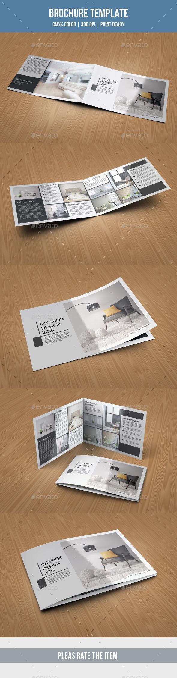 Landscape Bifold Brochure-V199 - Corporate Brochures