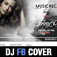 Elegant Party and Dj Facebook Cover Template - GraphicRiver Item for Sale