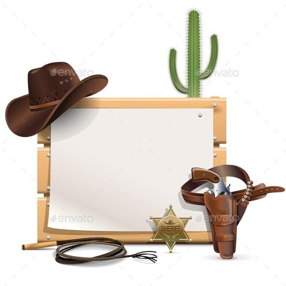 Cowboy Frame - Travel Conceptual