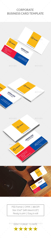 Corporate Business Card Vol. 2 - Corporate Business Cards