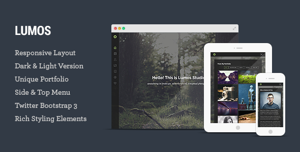 Lumos – Multipurpose Single/Multi-page Template