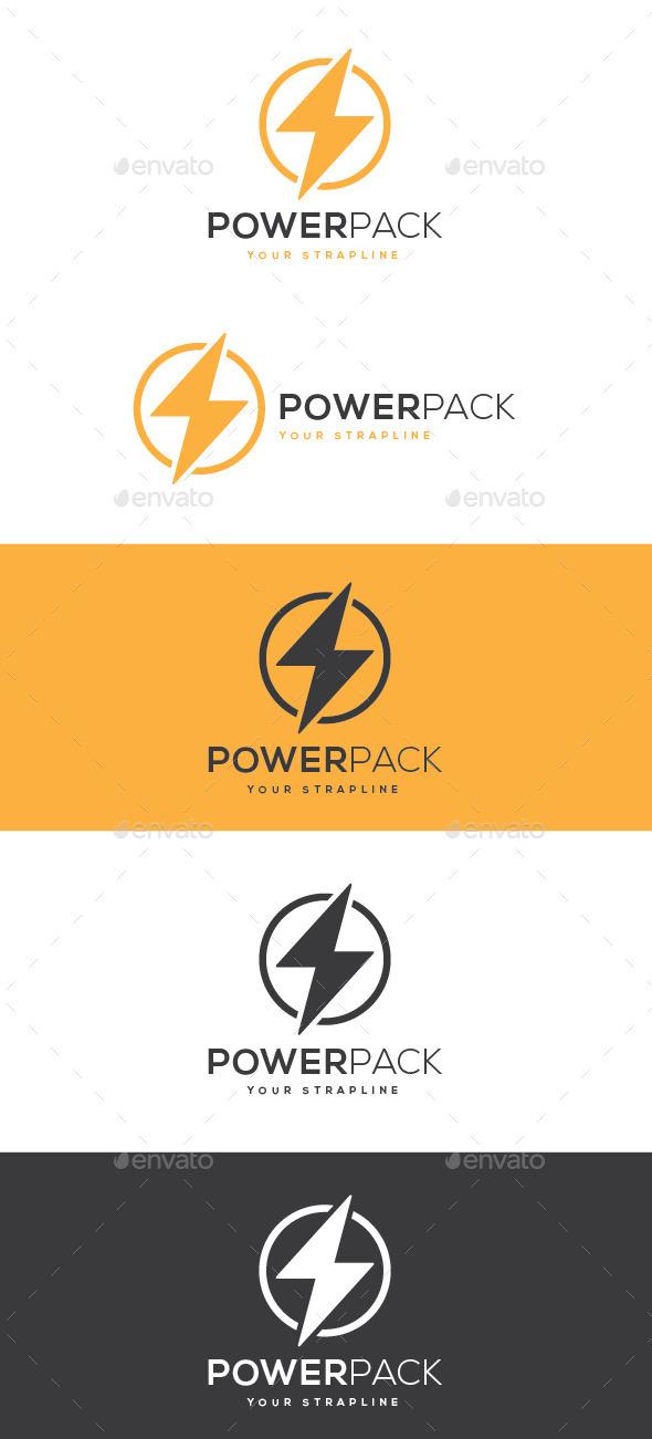 Power Pack Logo - Symbols Logo Templates
