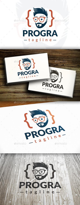 Programer Logo - Humans Logo Templates
