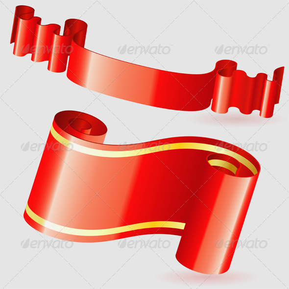 Scroll Ribbon - Borders Decorative