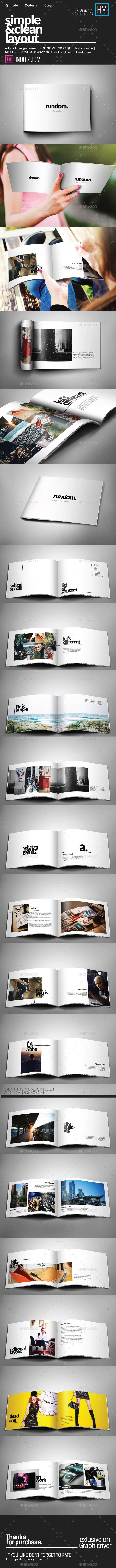 Multipurpose Catalogs / Brochure / Portfolio  - Brochures Print Templates