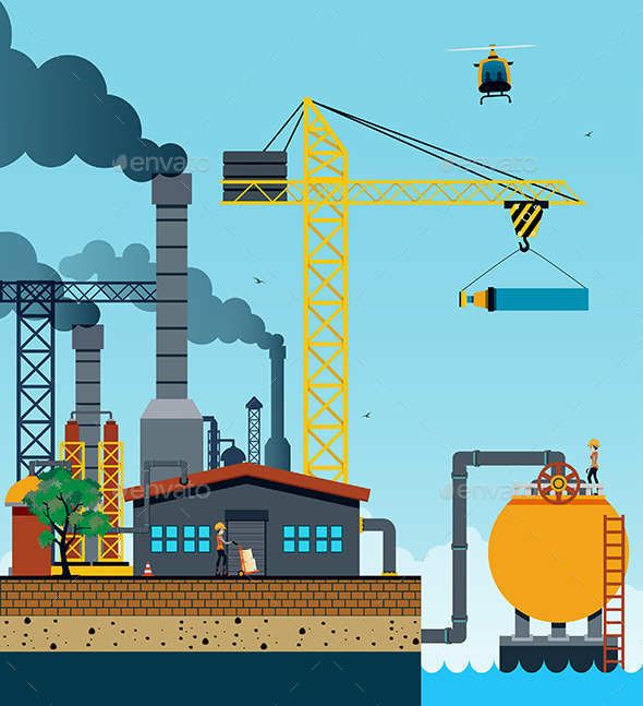 Industrial Factory - Industries Business