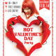 Hot Valentine's Day Party Flyer - GraphicRiver Item for Sale