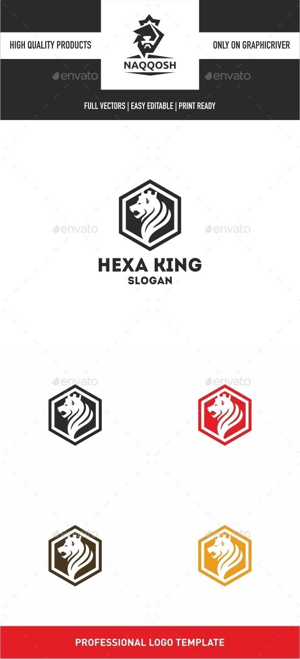 Hexa King - Logo Templates