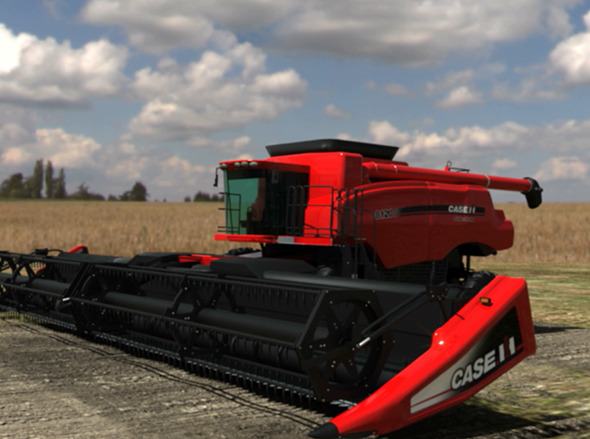 Combine Harvester | Case IH - 3DOcean Item for Sale