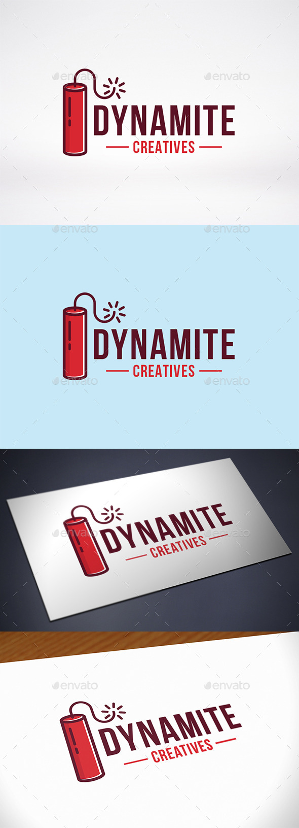 Dynamite Logo Template - Objects Logo Templates