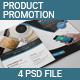 Product Promotion Bi-fold Brochure - GraphicRiver Item for Sale