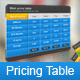 Pioneer_Web Pricing Table - GraphicRiver Item for Sale