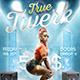True Twerk Party Flyer / Poster