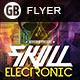 Skull Electronic | Flyer - GraphicRiver Item for Sale