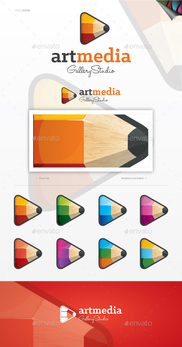 Art Media Logo - Objects Logo Templates