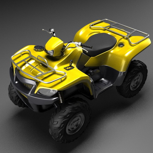 Generic quad bike - 3DOcean Item for Sale