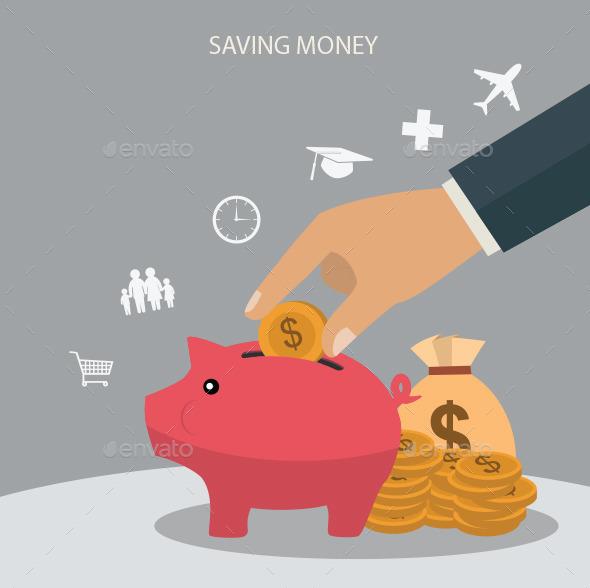 Saving Money - Conceptual Vectors