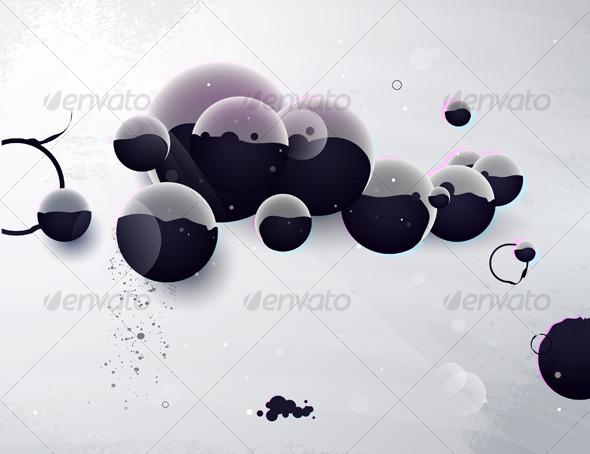 Abstract form, design elements, design a fantastic - Abstract Conceptual
